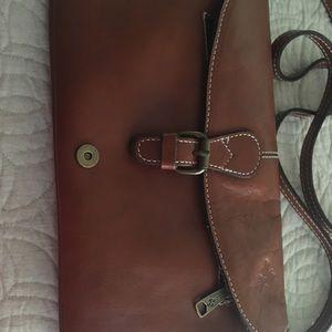 Patricia  Nash cross body leather bag